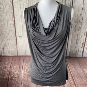 Worthington gray tank top size large nwt
